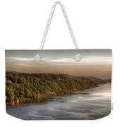 Hudson River Morning Weekender Tote Bag