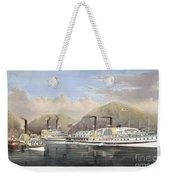 Hudson River Steamships Weekender Tote Bag by Granger