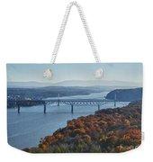Hudson Valley Weekender Tote Bag