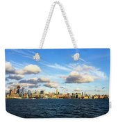 Hudson Waterfront Weekender Tote Bag