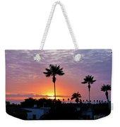 Hued Sunset  Weekender Tote Bag