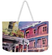 Hues Of The French Quarter Weekender Tote Bag