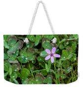 Huge Beauty In A Small Wildflower Weekender Tote Bag
