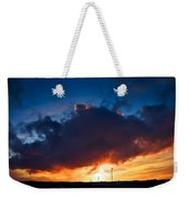 Huge Dusk Cloud Weekender Tote Bag