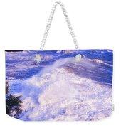 Huge Wave In Ligurian Sea Weekender Tote Bag