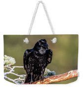 Huginn The Raven Weekender Tote Bag