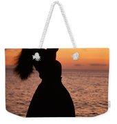 Hula At Sunset Weekender Tote Bag