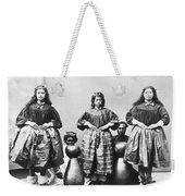 Hula Dancers, C1875 Weekender Tote Bag