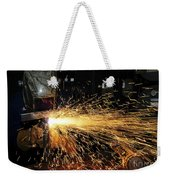 Hull Maintenance Technician Welds Scrap Weekender Tote Bag