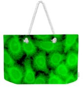 Human Glioma Cell Line Weekender Tote Bag