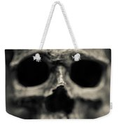 Human Skull Among Flowers Weekender Tote Bag
