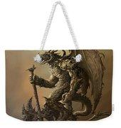Humanoid Dragon Weekender Tote Bag