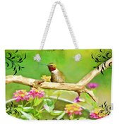 Humminbird Attitude - Digital Paint 3 Weekender Tote Bag