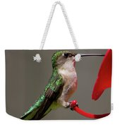 Humming Bird 8 Weekender Tote Bag