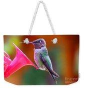 Hummingbird - 28 Weekender Tote Bag