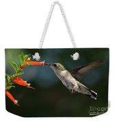 Hummingbird #4 Weekender Tote Bag