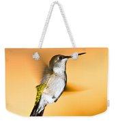 Hummingbird Agains The Sunset Weekender Tote Bag