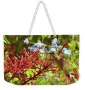 Hummingbird And Firespike Weekender Tote Bag