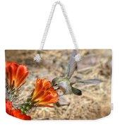 Hummingbird And The Hedgehog  Weekender Tote Bag