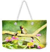 Hummingbird Attitude - Digital Paint 1 Weekender Tote Bag