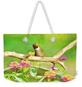 Hummingbird Attitude - Digital Paint 2 Weekender Tote Bag