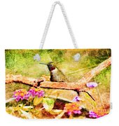 Hummingbird Attitude - Digital Paint 4 Weekender Tote Bag