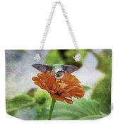 Hummingbird Bow Weekender Tote Bag