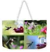 Hummingbird Collage 2 Weekender Tote Bag