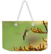 Hummingbird Drinking Nectar Weekender Tote Bag