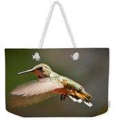Hummingbird Facing Left Weekender Tote Bag