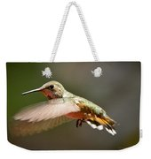 Hummingbird Facing Left Weekender Tote Bag
