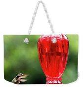 Hummingbird Feeder Weekender Tote Bag
