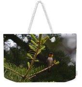 Hummingbird Flashing Weekender Tote Bag