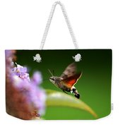 Hummingbird Hawk Moth - Four Weekender Tote Bag