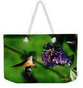 Hummingbird Hawk Moth 2 Weekender Tote Bag