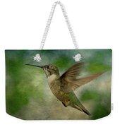 Hummingbird In Flight II Weekender Tote Bag