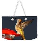 Hummingbird In My Window Weekender Tote Bag