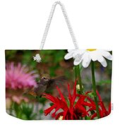 Hummingbird Mid Flight Weekender Tote Bag
