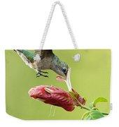 Hummingbird Nose Dive Weekender Tote Bag