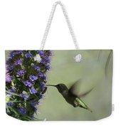 Hummingbird Sharing Weekender Tote Bag