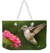Hummingbird Sunrise Weekender Tote Bag