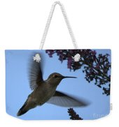 Hummingbird Wings And Butterfly Bush Weekender Tote Bag