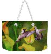 Hummingbirds In Virginia Weekender Tote Bag