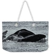 Humpback Fishing Weekender Tote Bag
