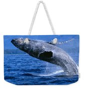 Humpback Full Breach Weekender Tote Bag