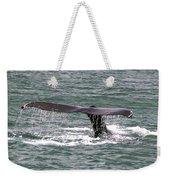 Humpback Whale Flute Alaska Weekender Tote Bag