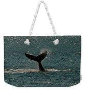 Humpback Whale Lifts Its Fluke. I Weekender Tote Bag