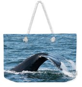 Humpback Whale Of A Tail Weekender Tote Bag