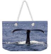 Humpback Whale Swimming Weekender Tote Bag