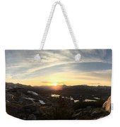 Humphreys Basin Sunset Weekender Tote Bag